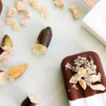 Coconut and Dark Chocolate Popsicles