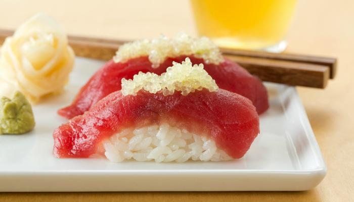 Sushi with Citriburst Finger Limes