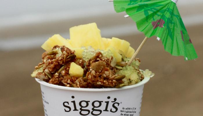 Siggis and Finger Lime Parfait